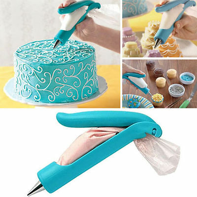 Pastry Icing Piping Bag Nozzle Tips Fondant Cake Decorating Pen DIY Tool Set