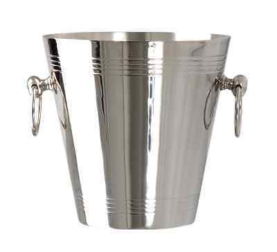New Wine Bucket COOLER MANHATTAN NICKEL Plated Ice Bucket 8 inch 20cm