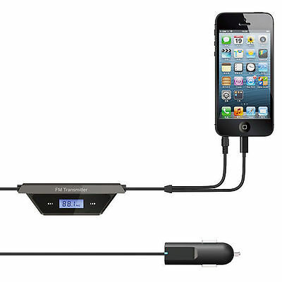 Latest Technology FM Transmitter With Car Charger For iPhone 5.