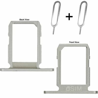 Silver Sim Card Tray Holder Replacement Part for Samsung Galaxy S6 G920 SM-G920F