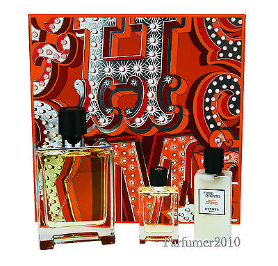 Hermes Terre D'Hermes 100ml EDT Spray+12,5ml EDT Spray + 40ml After-Shave Lotion