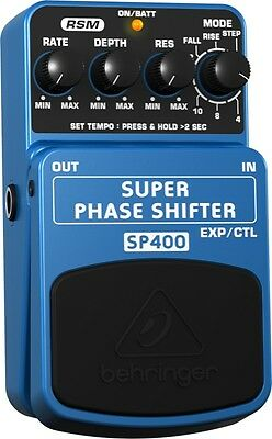 Behringer SUPER PHASE SHIFTER SP400 Ultimate Phase Shifter Effects Pedal