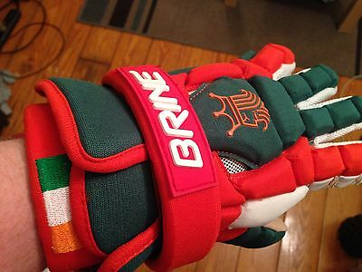 Ireland Lacrosse Team gloves - Brine King Superlight II Irish NWT Lax