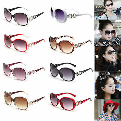 Hot Retro Vintage Women Shades Oversized Eyewear Classic Designer Sunglasses E5