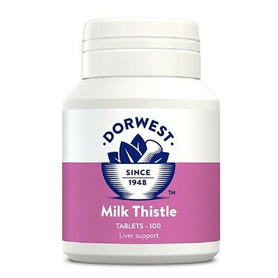 Dorwest Milk Thistle Tablets x 100, Premium Service, fast dispatch