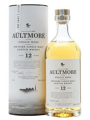 Aultmore 12 year old Speyside Single Malt Scotch Whisky • AUD 108.99