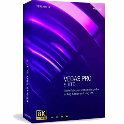 Magix Vegas Pro 15 Suite Video, Effects, DVD Authoring Academic *Download* Sony
