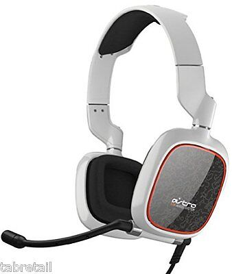 Astro Gaming A30 PC/PS4/Xbox One Headset On Ear Headphones with Mic - White