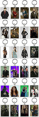 Once Upon A Time Classic Tv Show And Dvd Keyrings *great Buy* Uk Seller