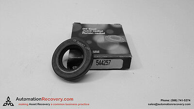 "Chicago Rawhide 544257 Oil Seal Joint Radial 1-5/8"" Dia 1/4"" Thick, New #123499"