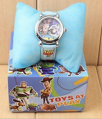 Toy Story Boxed Wrist Watch Blue Kids Boy Girl Childs Toy Gift Box Uk Seller