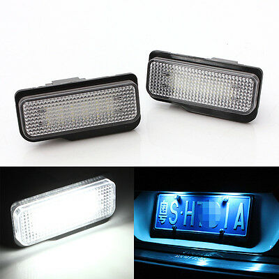 Error Free LED License Plate Light FOR  Mercedes-Benz S203 5D W211 W219 CLS C219