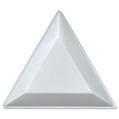x2 Triangle Rhinestone Sorting Tray Nail Art
