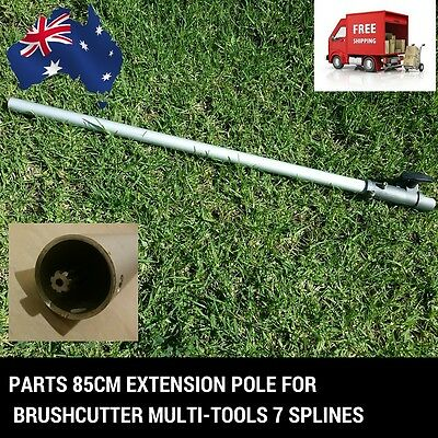 Extension Pole Chainsaw Whipper Snipper Hedge Trimmer Brush Cutter Saw Pruner 7T