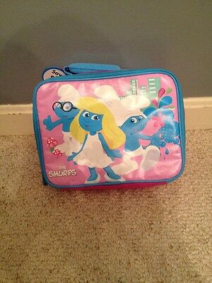 The Smurfs  Lunch Bag New