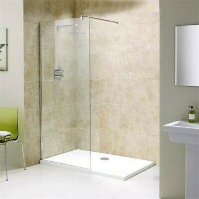 Walk In Shower Enclosure 1800 x 900 Shower Tray + 1200 Wetroom Panel Screen