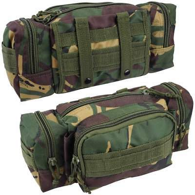 Military Army Waist Pouch DPM Camouflage Molle Belt Nylon Festival Bum Bag Pack