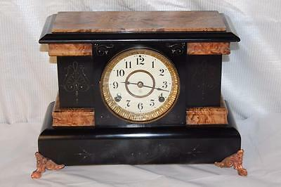 Antique Seth Thomas Adamantine Mantle Clock ~ Made in 1895 ~