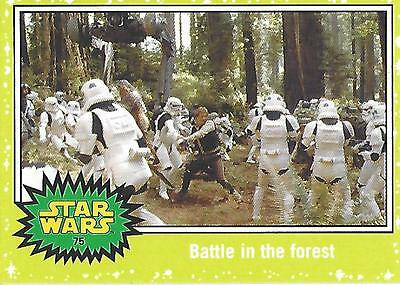 Star Wars Journey to the Force Awakens Green Parallel Satz / Set - 110 Cards
