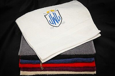 Luxury Egyptian Cotton GOLF TOWEL Personalised Gift ANY INITIALS Great Gift Idea