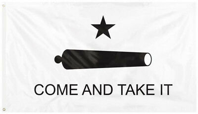 Texas Gonzales American Revolution Come And Take It Flag 3' x 5'