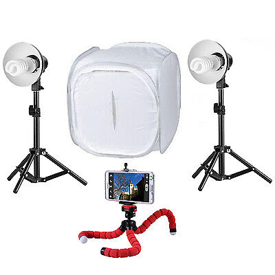Photo/Video Small Product Shooting Lighting Kit (For Smartphones & iPhones)