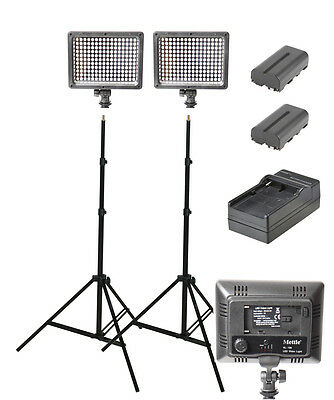 360W Continuous LED Lighting Kit (portable lighting)