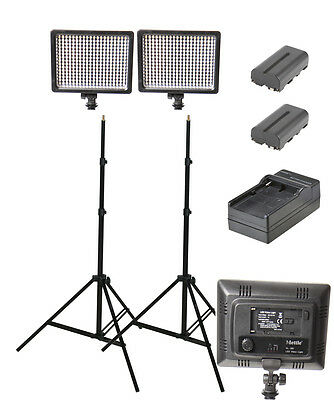 600w Continuous LED Lighting Kit (portable lighting)