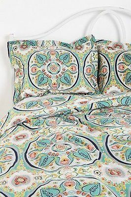 Urban Outfitters Magical Thinking Painted Medaillon Standard Shams Set