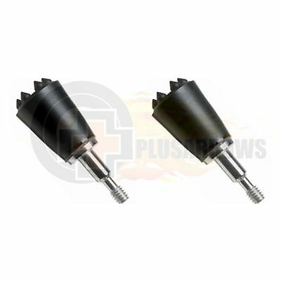 2 Qty Screw in Blunts Small Game Bow Hunting Heads for Archery Arrows