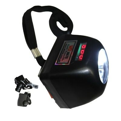 Miner Digital Light 4500LM 1W LED Display Helmet Safe Cap Lamp Cordless 18001010