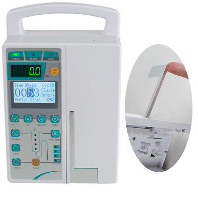 Medical Infusion Pump IV Fluid Infusion With Audible Alarm Human & Veterinary UK