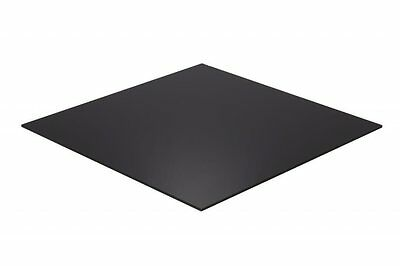 BLACK 3mm & 5mm Acrylic Sheet Perspex Plastic Splashback Cast Colour Panel Gloss