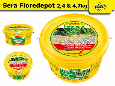 Original Sera Floredepot Aquarium Fish Tank Professional GRAVEL SUBSTRATE PLANTS
