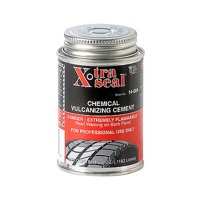 Small 120ml - Tyre Repair Vulcanizing Cement / Glue - Clear Cement