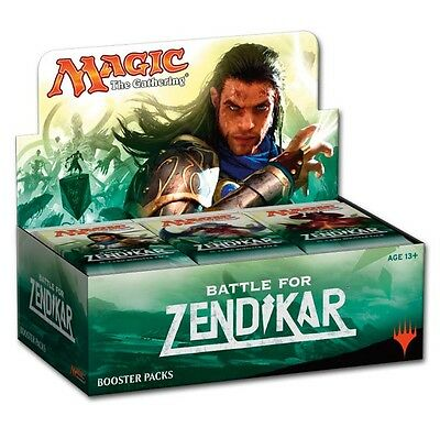 Wizards of the Coast Magic Kampf um Zendikar Booster Display (DE)
