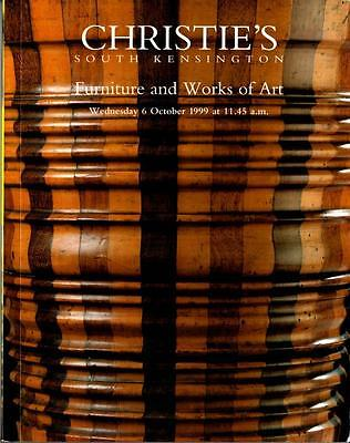Christie's Auction Catalog: Furniture and Works of Art - October 1999 London