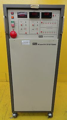 M and W Systems RPC/28W-RNB Flowrite Recirculating Chiller Used Tested Working
