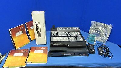 Ross Synergy 100 SD SDI 16 Input switcher w/ Control Panel,Power Supply, Manuals