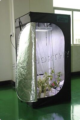 3 Size High Quality Grow Tent Plant Growing Room Hydroponics Farm Indoor Garden