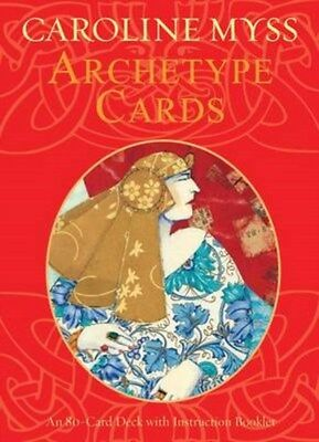 Archetype Cards: A 78-card Deck and Guidebook 9781401901844 by Caroline M. Myss