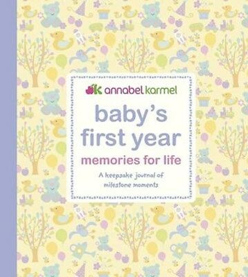 Baby's First Year - Memories for   Life: A Keepsake Journal of Milestone...