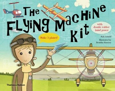 Flying Machine Kit: Make 5 Planes! 9780500650233 by Michael Cannon, BRAND NEW