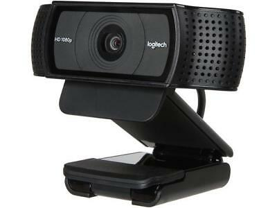 Logitech C920 USB 2.0 certified (USB 3.0 ready) HD Pro Webcam - Black