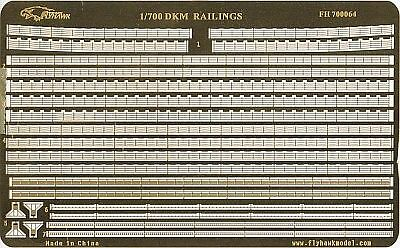 Photo-Etched PE 1/700 WWII German DKM Railing   700064