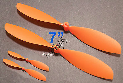 """US 001-01005 4pcs 4x9/"""" ø1.4mm Rubber Band Powered Plane Air Plane Propellers"""
