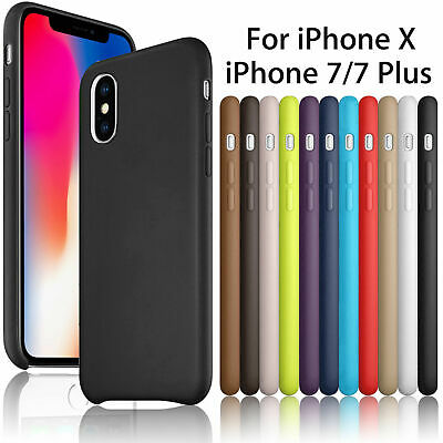 Slim Luxury PU Leather Ultra-thin Back Case Cover For Apple iPhone 6/6S/ 7 Plus