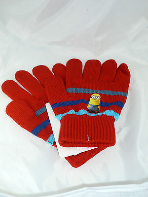 Set gants Minion, rouge.