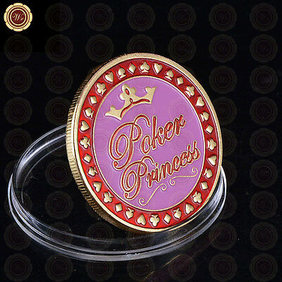 Poker Princess - Poker Guard Card Cover Ladies Protector Creative Gift For Her