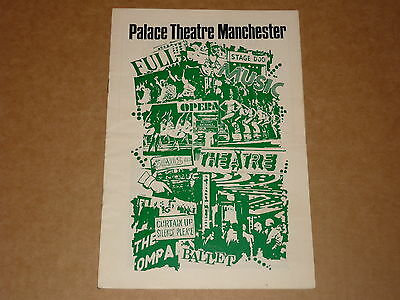 Young Generation/Gerry Marsden 1972 Palace Theatre, Manchester Programme